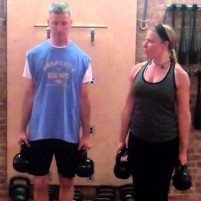 The Active Neck Stretch with KB